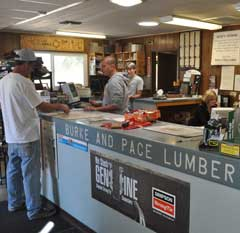 Burke and Pace customer service