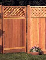 Sequoia Fence Panel