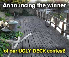 Announcing the winner of our Ugly Deck Contest